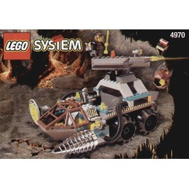 Lego Rock Raiders 4970 - Chrome Crusher