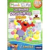 5 Rue S�same: Les Grandes D�couvertes D'elmo - Jeu Pour V.Smile (Vtech Vsmile)