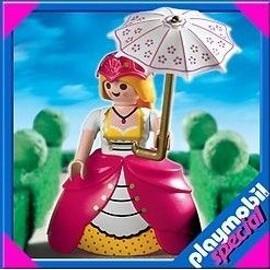 Playmobil 4639 - Lady Avec Ombrelle