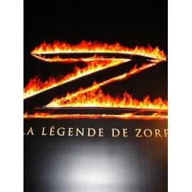 La légende de Zorro - Affiche géante plastique collector ! Antonio Banderas, Catherine Zeta-Jones