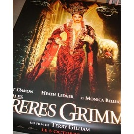 Les frères Grimm - Affiche géante plastique collector (Modèle 2) - Matt Damon, Heath Ledger, Monica Bellucci