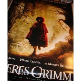 Les frères Grimm - Affiche géante plastique collector (Modèle 4) - Matt Damon, Heath Ledger, Monica Bellucci