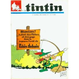 Hebdomadaire Tintin 21e Ann�e N� 1076 : Robin Dubois