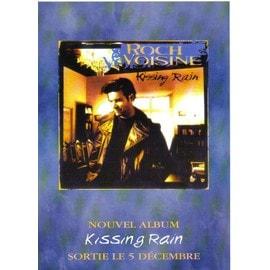 Bon de précommande de l'album Kissing Rain de Roch Voisine à l'attention des magasins de disque