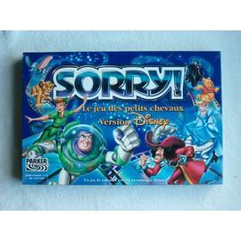 Sorry- Le Jeu Des Petites Chevaux - Version Disney