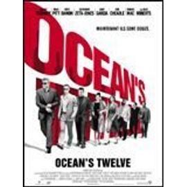 Ocean's 12 - Affiche originale 120x160 cm - George Clooney, Brad Pitt, Matt Damon