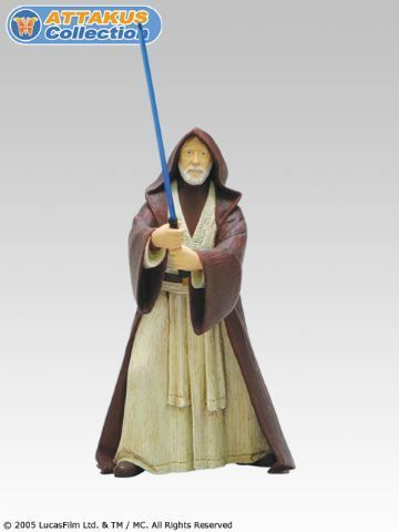 Star Wars Obi Wan Star Wars Attakus Serie Metal 10 Cm Serie Numerotee