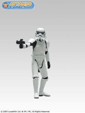 Star Wars Stormtrooper Commander Star Wars Attakus Serie Metal 11 Cm Serie Numerotee