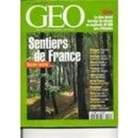 Geo - N� 224 : Sentiers De France - Equateur - Petra - Albanie - Pierre Verger - Pythons - Barrage En Chine