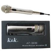 K&K AT-309 - Micro Microphone sans fil de chant karaok�