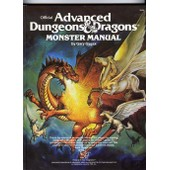 Advanced Dungeons & Dragons Monster Manual de gary gygax