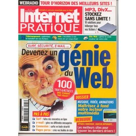 Internet Pratique N� 37 : Devenez Un G�nie Du Web