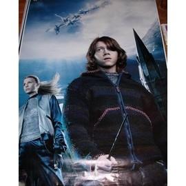 Harry Potter Et La Coupe De Feu - Double Affiches - Grand Format - Ron Weasley