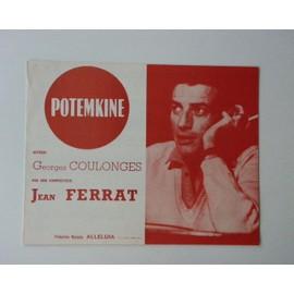 """JEAN FERRAT """"POTEMKINE"""" 1965 EDTS ALLELUIA"""