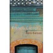 Francis Cabrel - Hors-Saison - K7 Audio