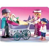 Playmobil : Famille Landeau Maison Traditionelle 5510