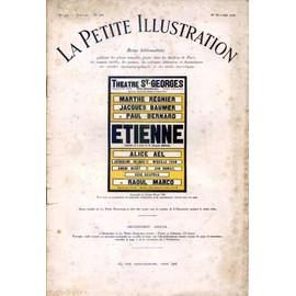 La Petite Illustration Th��trale N� 266 : Etienne, Com�die De Jacques Deval