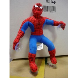 Peluche Spiderman Ventouse