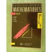 Math�matiques, 1re S-E - Analyse de Thomas Anne