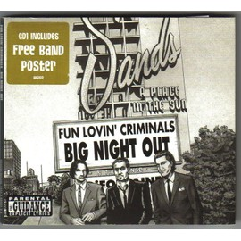 BIG NIGHT OUT (includes free band poster)