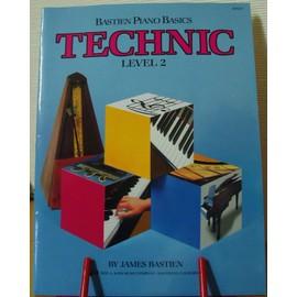 Bastien Piano Basics - TECHNIC - level 2