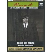 Maigret (Jean Richard) - Vol. 15 : C�cile Est Morte / L'affaire Saint-Fiacre de Simenon, Georges