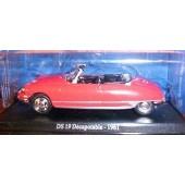 Ds 19 Decapotable 1961 - 1/43 �me