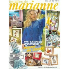 Les Idees De Marianne N� 81, Mer Campagne Et Montagne Au Point De Croix