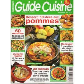 Guide Cuisine N� 77 : Dessert : 10 Id�es Aux Pommes