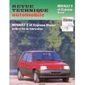 Renault 5 Et Express - Moteur Diesel 1.6, Tous Types Jusqu'en 1995