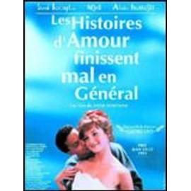 """affiche 120 x 160 """"les histoires d'amour finissent mal en général"""" - anne fontaine - sami bouajila - alain fromager"""