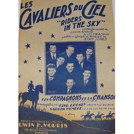 Les Cavaliers du Ciel - Riders in The Sky - Partition