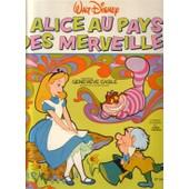 Alice Au Pays Des Merveilles Livre Disque Walt Disney - Genevi�ve Casile