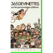 365 Devinettes Sur Les Personnages C�l�bres de Dolor�s Mora