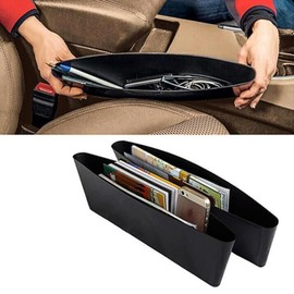 2x bo tes de rangement siege voiture organisateur stockage fente si ge. Black Bedroom Furniture Sets. Home Design Ideas