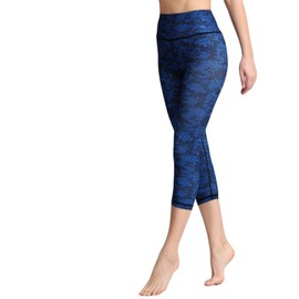 Compression Fitness 34 Femme De Haute Taille Pantalon Pantacourt Yoga H9E2WDIY