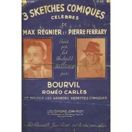 3 Sketches Comique Celebres De Max Regnier Et Pierre Ferrary N�69 de bourvil