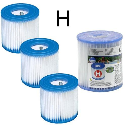 4 cartouches de filtration intex pour filtre piscine. Black Bedroom Furniture Sets. Home Design Ideas