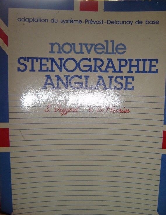 NOUVELLE STENO ANGLAISE. Edition 1984
