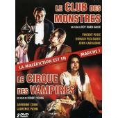 Le Club Des Monstres + Le Cirque Des Vampires - Pack de Roy Ward Baker