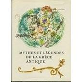 Mythes Et Legendes De La Grece Antique de Eduard Petiska
