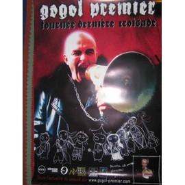 GOGOL PREMIER - AFFICHE CONCERT - 68x100