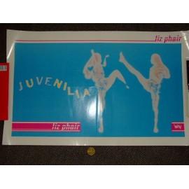 "Affiche LIZ PHAIR ""Juvenilia"""