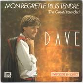 Mon Regret Le Plus Tendre (The Great Pretender) - Dave