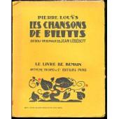 Les Chansons De Bilitis de pierre lou�s