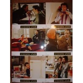 Cravate club - Charles Berling, Edouard Baer - jeu de 6 photos A4 couleur