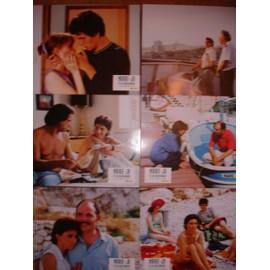 Marie-Joe et ses deux amours - jeu de 6 photos A4 couleur - Ariane Ascaride, Jean-Pierre Darroussin