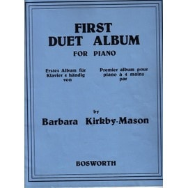 First duet album for piano - Barbara Kirkby-Mason - Editions Bosworth