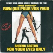 Rien Que Pour Vos Yeux James Bond + For Your Eyes Only Instrumental - Sheena Easton