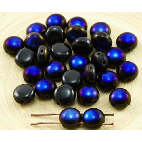 Crafts Lot 50 Perles En Bois De Cypres 8 Mm Bleu Paon Comfortable Feel Beads & Jewelry Making